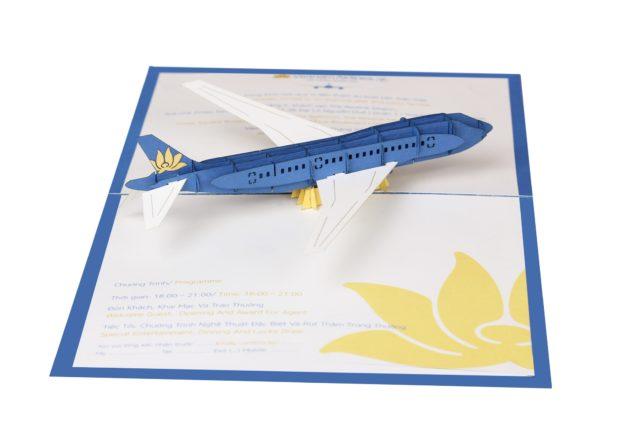 pop up cards plane