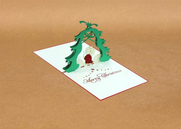 Pop Up Christmas Cards