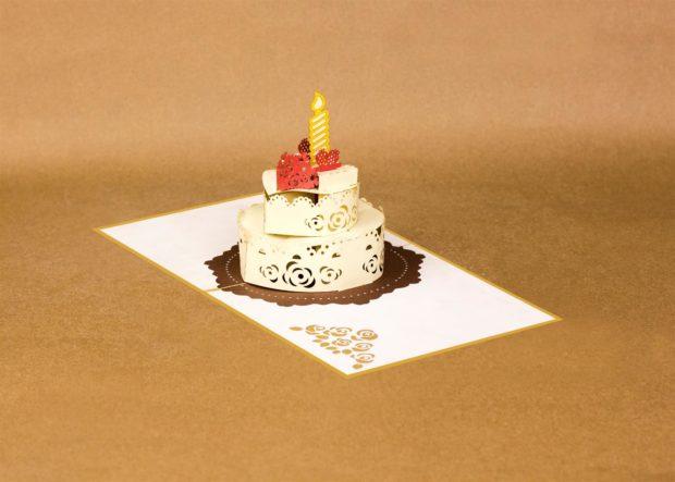 Pop Up Happy Birthday Card