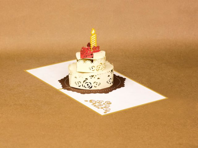 Pop Up Happy Birthday Card – special gift in Era of technology