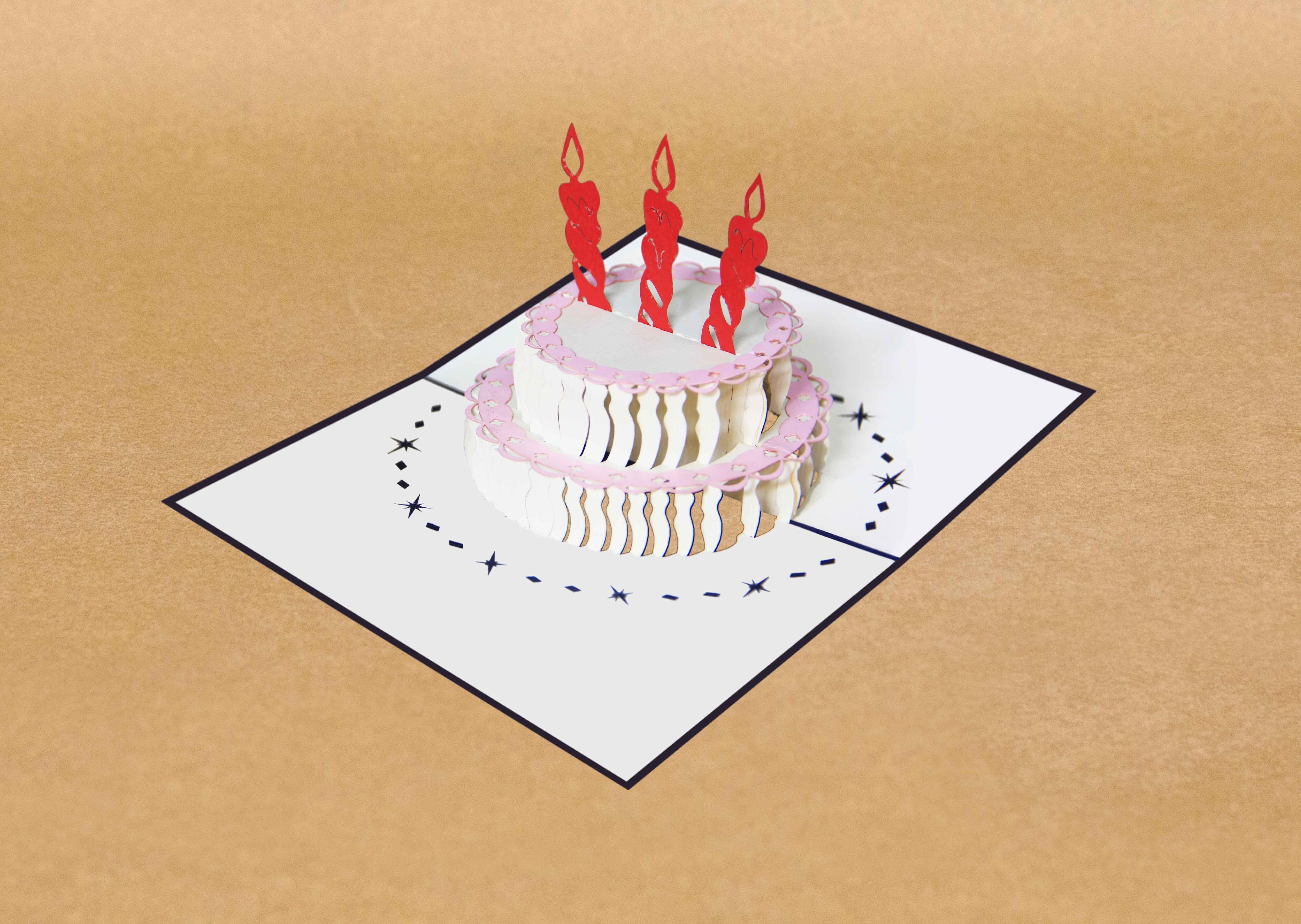 Birthday pop up card a simple birthday card pop up cards birthday pop up card bookmarktalkfo Image collections
