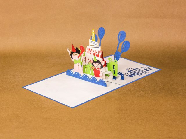 Happy Birthday Pop Up Card Pop Up Cards Wholesale Pop Up Cards