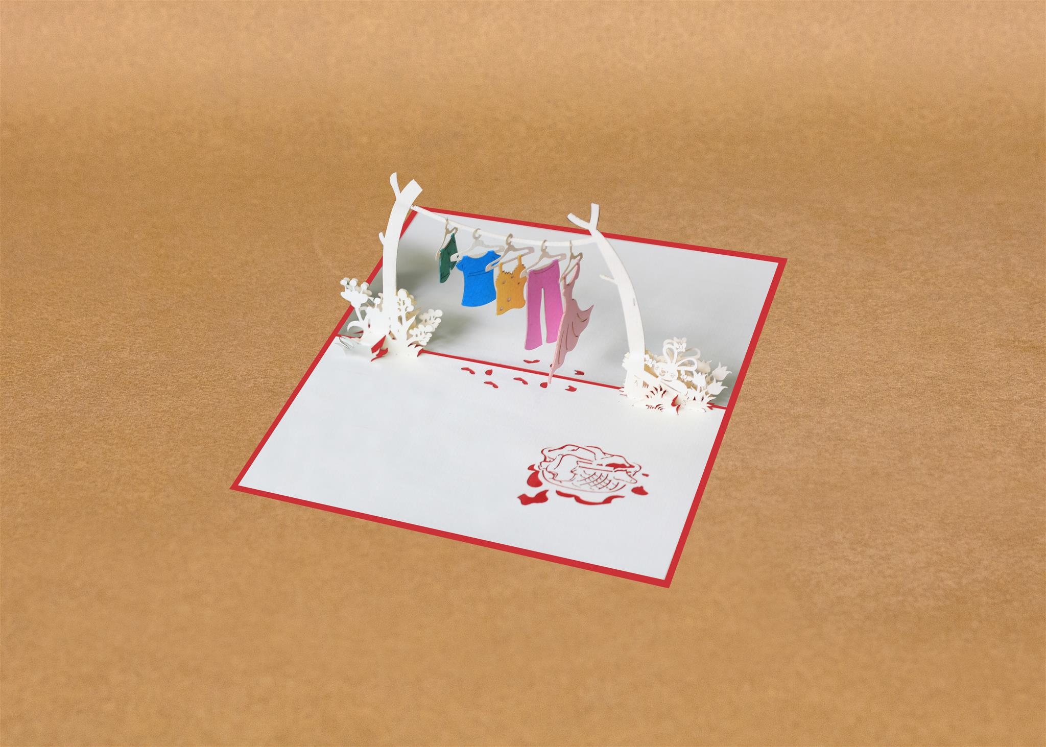 Kirigami Card Magic Gift For Your Beloved Ones Pop Up