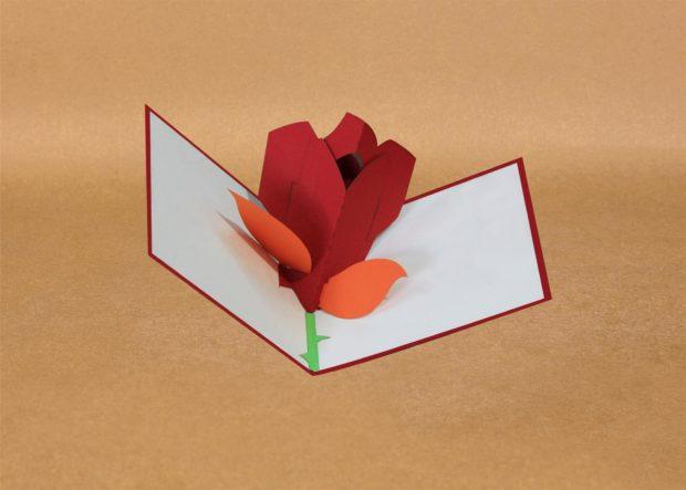 Pop-up cards for teachers