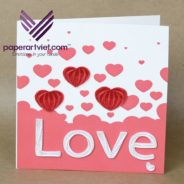 How To Make A Heart Pop-up Card