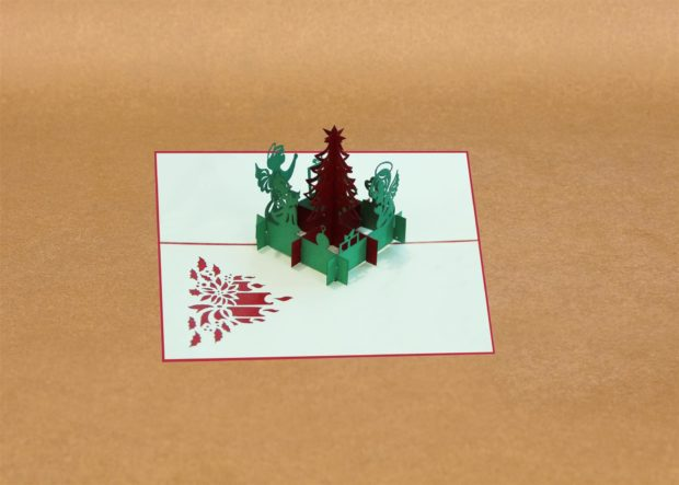 Kirigami greeting cards