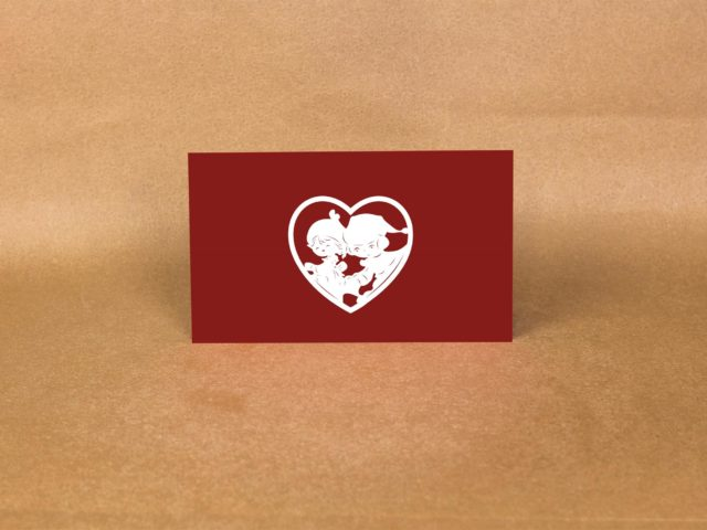 How to make the love pop-up cards for Valentine Day?
