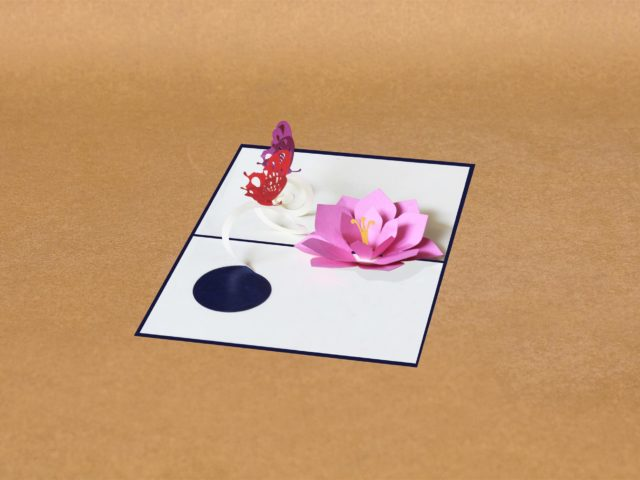 Flower Pop Up Card Template Free Pop Up Cards Wholesale Pop Up