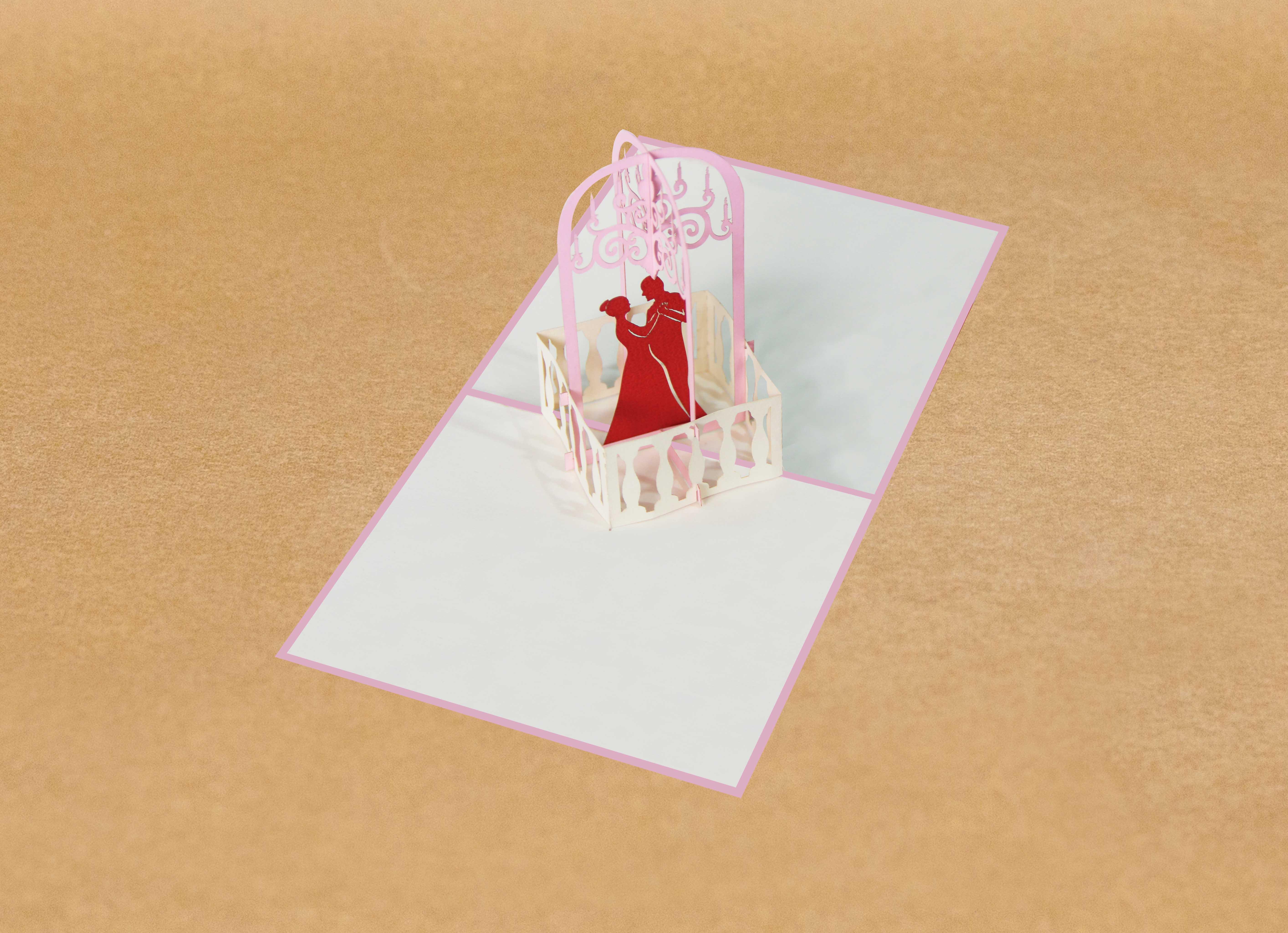 pop-up wedding cards