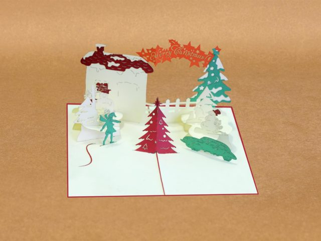 Pop-up Xmas Cards – Christmas Special Gift.