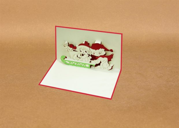 Pop-up Xmas cards