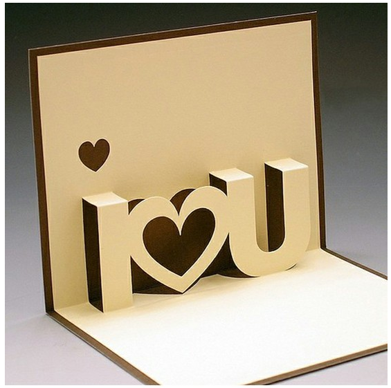 Valentine Pop Up Card A Wonderful Gift For Your Lover Pop Up Cards