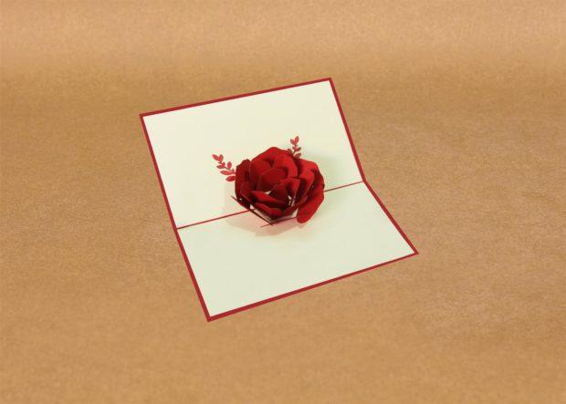 Valentine Pop-Up Card