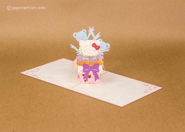 3D Cards ideas from PaperArtViet supplier-3