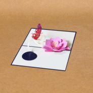 The flower pop-up cards for special occasions